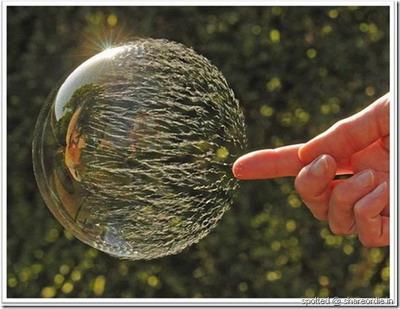 حباب صابون