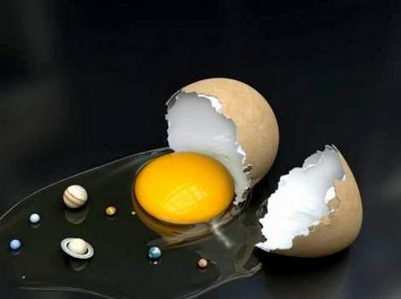 منظومه شمسي و تخممرغ